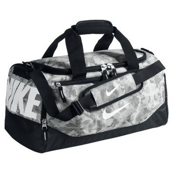 Nike Max Air Team Training Graphic Small Duffel Bag - Cool Grey