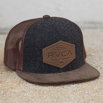 RVCA Sixth Panel Trucker Hat