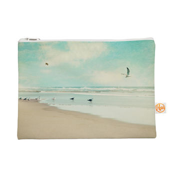 "Sylvia Cook ""Away We Go"" Beach Seagull Everything Bag"
