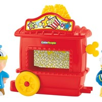 Fisher-Price, Little People, Magic of Disney, Donald Duck's Popcorn Stand