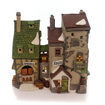 Department 56 House Fagins Hide-A-Way Village Lighted Building