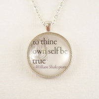 To Thine Own Self Be True William Shakespeare by cellsdividing
