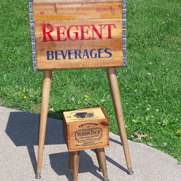 Shipping Crate Table REGENT BEVERAGES  Pittsburgh by MrsRekamepip