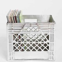 4040 Locust Metal Storage Crate- Silver One