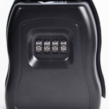 Vault Locks 5010 - Large and Heavy Duty - Wall Mount Key Storage Lock Box with Set Your Own Combination