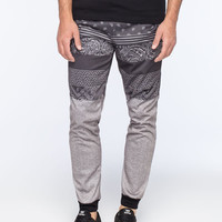 Valor Doughty Mens Jogger Pants Grey  In Sizes