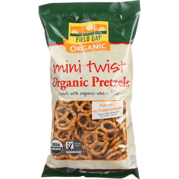 Field Day Pretzels - Organic - Mini Twist - 8 oz - case of 12