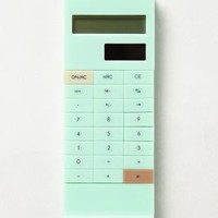Slip-On Calculator by Anthropologie Mint One Size House & Home