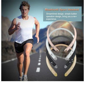 Wireless Bluetooth Headphones  Retractable Earphone  with Microphone Sport Stereo V4.0 Bluetooth Headset for  IPhone Android Pho