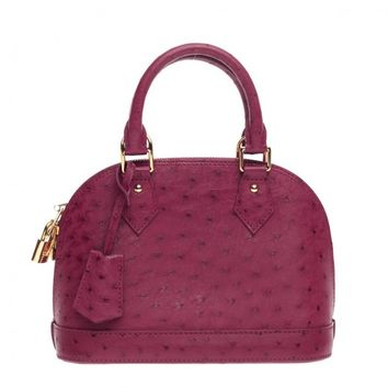 Louis Vuitton Alma Ostrich BB