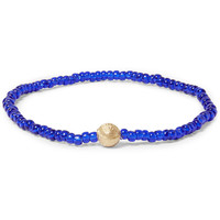 Luis Morais - Gold and Glass Bead Bracelet | MR PORTER