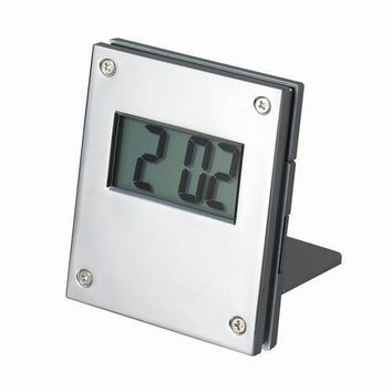 Free Personalized Engraving Silver Alarm Desk Office Clock