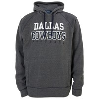 Mens Dallas Cowboys Charcoal Durham Pullover Hoodie