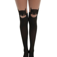 DC Comics Batman Silhouette Tights