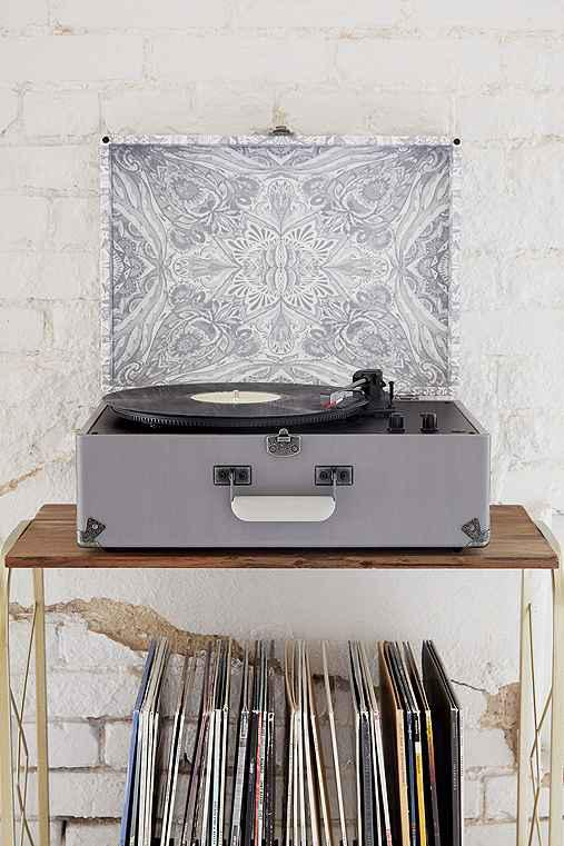 Crosley X UO AV Room Grey Mandala USB from Urban Outfitters