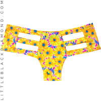 Neon Daisy Cutout Bottoms