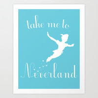 Peter Pan Art Print by gabsnisen