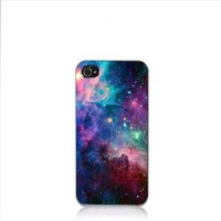 New Galaxy Space Universe Snap On Hard Case Cover Protector for iPhone 4 4S (3)