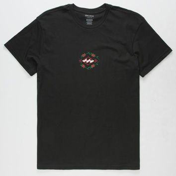 BILLABONG Rose Diamond Mens T-Shirt