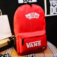"""Vans"" Casual Sport Laptop Bag Shoulder School Bag Backpack"