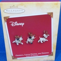 2004 Oddball Little Dipper & Domino Hallmark Disney Retired Ornament