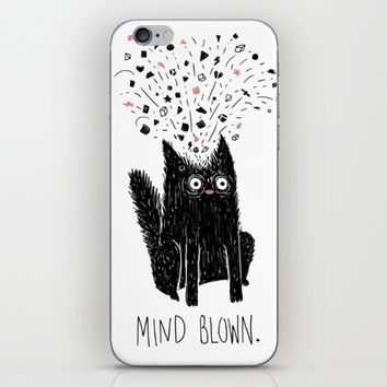 MIND BLOWN. iPhone & iPod Skin by littleclyde