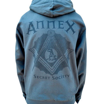 Secret Society Womens Zip Hoodie