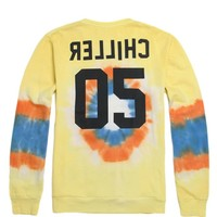 Vanguard Big Chiller 05 Crew Fleece - Mens Hoodie - Tie Dye