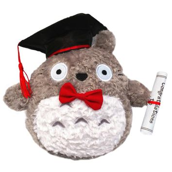 Totoro Graduation Gift Plush Cute Kawaii Pillow