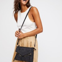 Free People Leanna Vegan Braided Crossbody