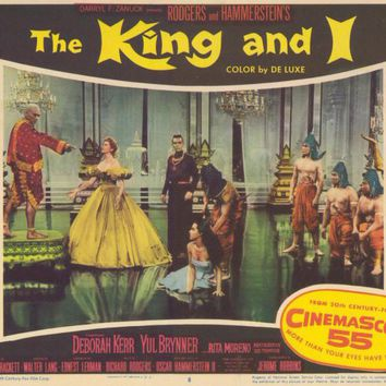 The King and I 11x14 Movie Poster (1956)