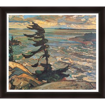 FREDERICK VARLEY LTD ED GICLEE GROUP OF SEVEN STORMY WEATHER GEORGIAN BAY 1921