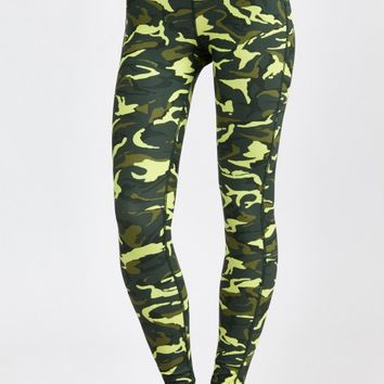 Combat Legging in Fluro Camo by HPE | New Arrivals | BANDIER