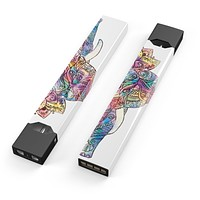Skin Decal Kit for the Pax JUUL - Flourished Sacred Elephant
