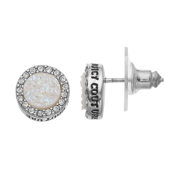 Juicy Couture Glitter Halo Stud Earrings