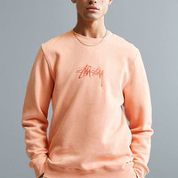 Stussy New Stock Crew Neck Sweatshirt - Urban Outfitters