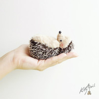 Hedgehog  Forest Friend  4 inch - made to order