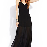 Night Goddess Maxi Dress