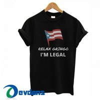 Puerto Rico Flag Relax Gringo T Shirt Women And Men Size S To 3XL
