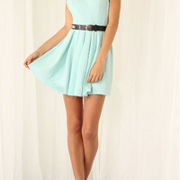 Casual Floral Lace Strap Pleated Backless Mini Dress