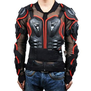 Super Cool Black Safety Jackets Jerseys Men's Hockey Motorcycle Armor For Outdoor Sport