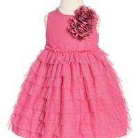 Pippa & Julie Ruffle Dress (Toddler Girls) | Nordstrom
