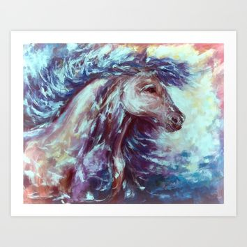 Wild The Storm Art Print by Lena Owens/OLenaArt