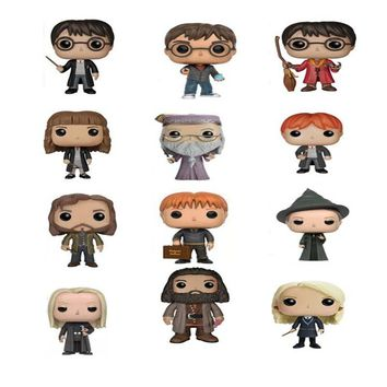 The Harry Potter Dobby Hermione Dumbledore Ron Luna Snape Action Figure Toy Doll