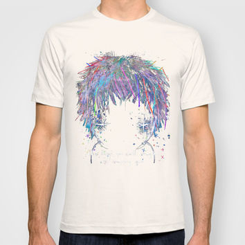 the things you can't imagine are imagining you T-shirt by Wirrow