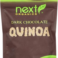 Next Organics Organic Dark Chocolate - Quinoa - Case Of 6 - 4 Oz.