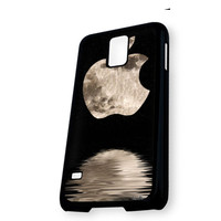 Apple Moon One Bite Logo Samsung Galaxy S5 Case