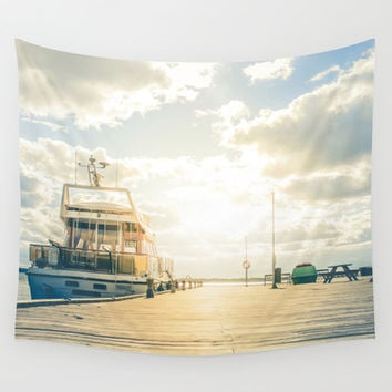 Dokkers IX Wall Tapestry by HappyMelvin