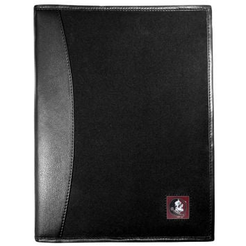 Florida St. Seminoles Leather and Canvas Padfolio CPAD7