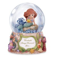 Precious Moments® Disney® Wonderful Things Surround You Musical Water Globe